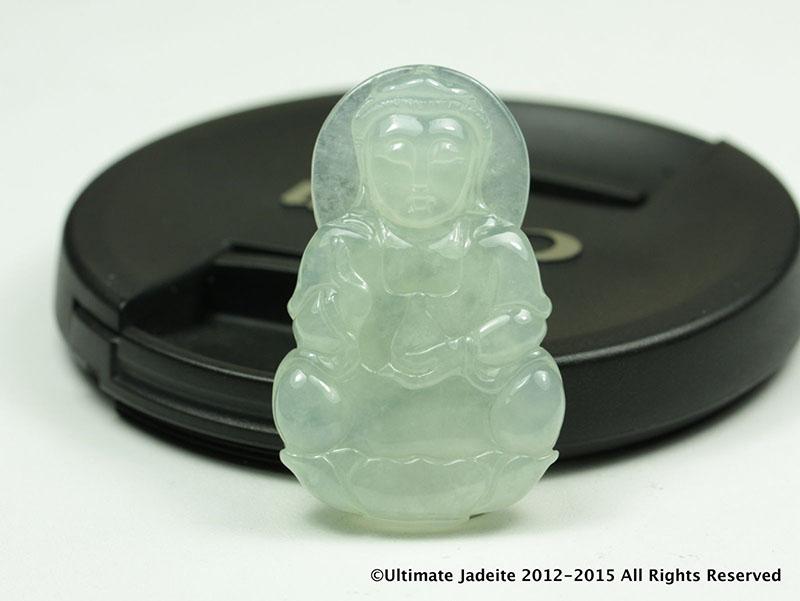 Guanyin kuanyin grade a jadeite jade pendant icy colorless ulltimate guanyin kuanyin grade a jadeite jade pendant6 aloadofball Images